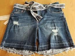 <b>Tom Tailor</b> Ladies Blue <b>Denim Jeans</b> Shorts <b>Cajsa</b> Size W32 UK 12 ...