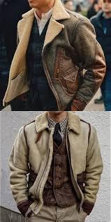 Stitching <b>Plush Jacket</b> #leatherjacketoutfit 2019 new fashion <b>men's</b> ...