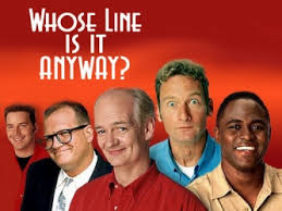 Improve comedy show logo - whose line is it anyway