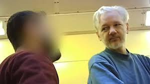 <b>Julian Assange</b> captured on leaked prisoner video inside London's ...