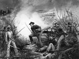 what caused the american civil war   top five causeslt  van pelt defending his battery in the battle of chickamauga during the american civil