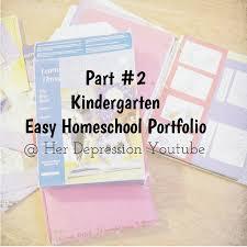easy homeschool portfolio part 2 kindergarten easy homeschool portfolio part 2 kindergarten