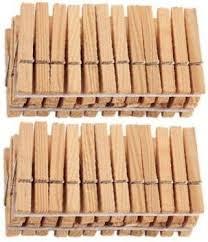 KitchenFest Premium Standard Wooden Cloth Clip - Flipkart.com