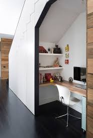 tips on creating a home office for your small space small space solutions area homeoffice homeoffice interiordesign understair