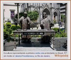 Resultado de imagem para imagens de huguenotes no brasil