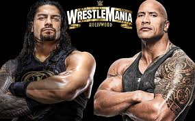 <b>Roman Reigns</b> gets a challenge from The Rock for Wrestlemania 37