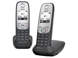 Купить <b>радиотелефон Gigaset A415 DUO</b>, Чёрный по цене от ...