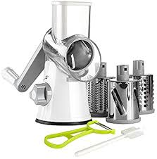 Ourokhome Rotary Cheese Grater Shredder - 3 Drum ... - Amazon.com