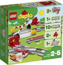 <b>Конструктор LEGO DUPLO</b> Town 10882 <b>Рельсы</b> — купить в ...