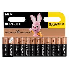 <b>Батарейка Duracell</b> Basic <b>AA</b> (<b>LR06</b>) алкалиновая, 12BL купить ...