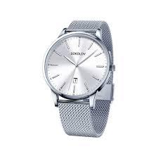 <b>Мужские стальные часы</b> арт. 311.71.00.000.01.01.3 от <b>SOKOLOV</b>