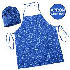 <b>Child Apron</b> Hat <b>Set Kids Kindergarten</b> Kitchen Baking Painting ...