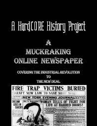 workers during the industrial revolution article and worksheet muckraking online newspaper common core research project