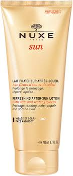 <b>Nuxe Sun Refreshing</b> After-Sun Lotion for Face & Body | Bath ...