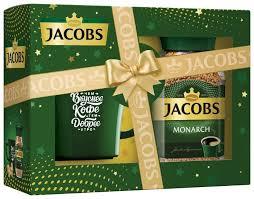 <b>Кофе</b> растворимый Jacobs Monarch, подарочный набор с <b>кружкой</b>