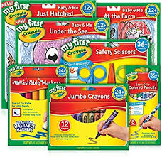 Crayola, Young <b>Artist Pack</b>, My First, Toddler, Junior, Includes 12 ...