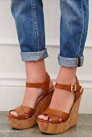 <b>Moraima Snc</b> Woman Leather Platform Wedge Sandals Sexy Open ...