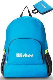 20L <b>Foldable Backpack</b>, Lightweight, <b>Waterproof Nylon</b> Cloth, For ...