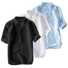 Классический китайский стиль, модные повседневные рубашки ...
