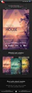 deep house session 3 event flyer template by sao108 graphicriver deep house session 3 event flyer template clubs parties events