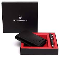 Buy WildHorn® RFID Protected Genuine <b>High Quality Leather</b> ...