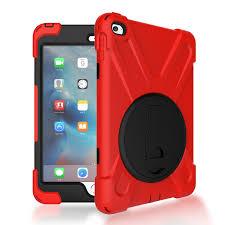 <b>RYGOU For Apple</b> iPad Mini 4 Case Spider Military Heavy Duty Dust ...
