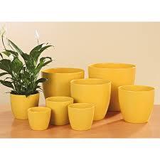 <b>Кашпо керамическое</b> Scheurich 920 Желтое, D16 купить по цене ...