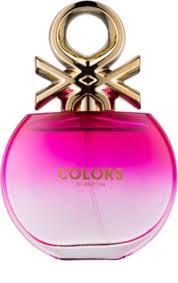 <b>Benetton Colors de</b> Benetton Pink Eau de Toilette for Women 80 ml ...