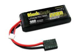 <b>Аккумулятор BLACK MAGIC</b> LiPo 7.4V (2S) 2200mAh 30C Soft ...
