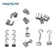 EASYINSMILE Dental Orthodontic Crimpable Hooks Sliding/Spiral ...