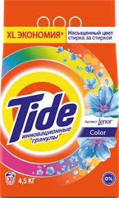 <b>Стиральный порошок TIDE</b> Absolute Lenor Scent <b>Color</b> д/цв. <b>авт</b> ...