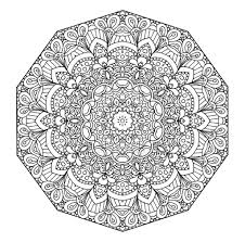 Small Picture Pretty Mandalas To Color Coloring Coloring Pages