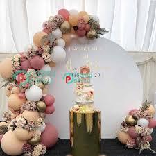 171pcs DIY Retro <b>Dusty Pink Peach</b> Balloon Garland Arch Kit Gold ...
