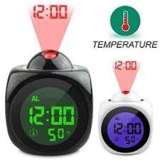 Multi-function Digital Projection Alarm Clock Voice Call Alarm ... - Vova