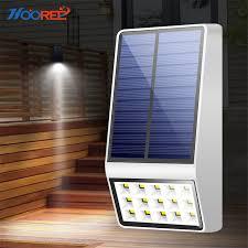 <b>HOOREE Solar Outdoor</b> Garden Light Radar Motion Sensor <b>Led</b> ...