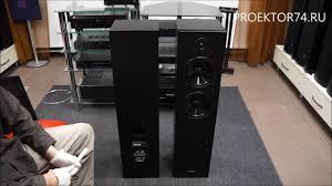 Обзор напольной акустики <b>Yamaha NS</b>-F51 - YouTube