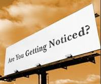 Sign: Are you getting noticed?
