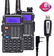 2PCs Baofeng Radios UV-5R MK5 8 Watt MP Max ... - Amazon.com