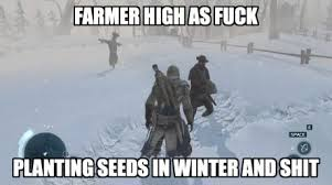 Planting seeds in winter and shit - Memes Comix Funny Pix via Relatably.com