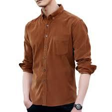 mens fashion pocket design <b>corduroy casual shirts at</b> Banggood