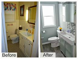 update bathroom mirror: crazy updating bathroom ideas update using duct tape your for less cabinets small updated mirror tiles