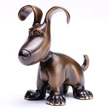 harvey dog mini charlie marty goldstein whimsical bronze mini charlie marty goldstein whimsical bronze harvey dog sculptures 02