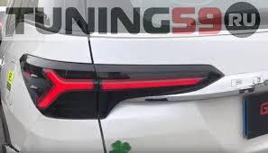 <b>Оптика задняя светодиодная</b> Audi-style для Toyota Fortuner 2015 ...