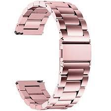 Fullmosa 3 Colors <b>Metal</b> Watch Strap 16mm 18mm 19mm <b>20mm</b> ...