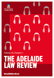 THE ADELAIDE LAW <b>REVIEW</b>