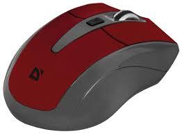 Купить <b>Мышь Defender Accura</b> MM-965 USB red по низкой цене с ...