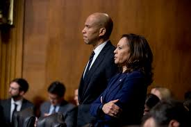 Harris and Booker jostle for backing of black lawmakers - POLITICO
