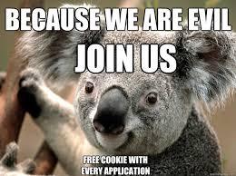 Evil Koala Bear memes | quickmeme via Relatably.com