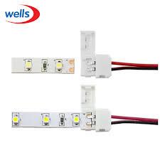 <b>5 100pcs</b> 2pin 3pin 4pin 5pin <b>LED</b> Strip <b>Connector</b> PCB No Welding ...