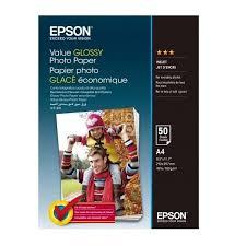 ≡ <b>Бумага Epson</b> A4 <b>Value Glossy</b> Photo <b>Paper</b> 50 л (C13S400036 ...